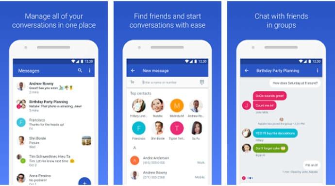 Google Messenger - Free Messeenger App for Android