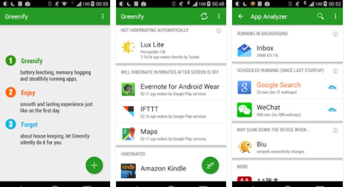 Greenify - Best Apps for Rooted Android