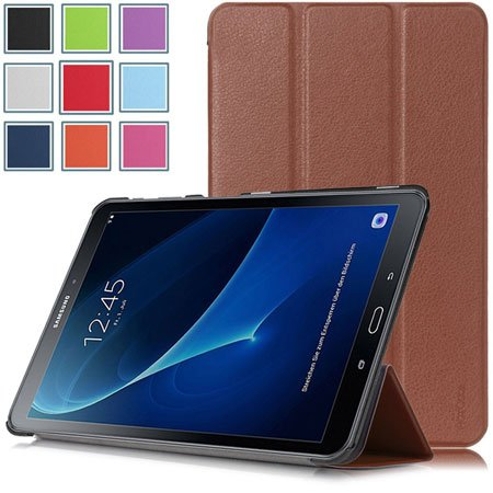 HOTCOOL Ultra Slim Lightweight Stand Cover Case For Samsung Galaxy Tab A 10.1