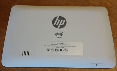 HP 7 1800 7-Inch Tablet