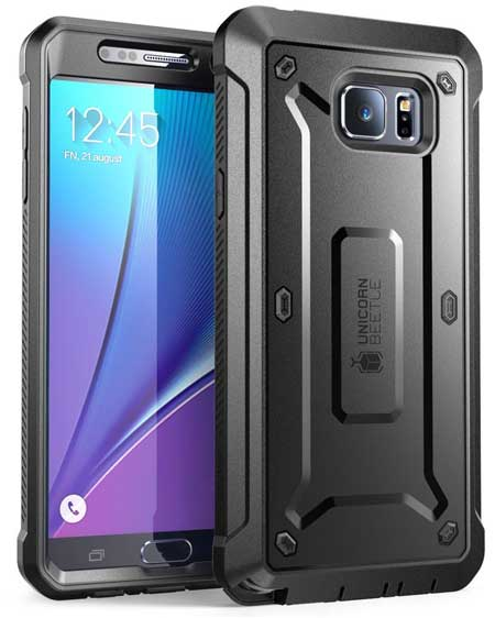 Heavy Duty Galaxy Note 5 Case by SUPASE