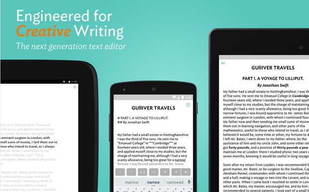 JotterPad - Android App for Writers