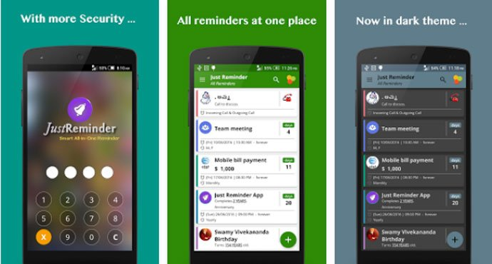 Just Reminder - Pill Reminder App