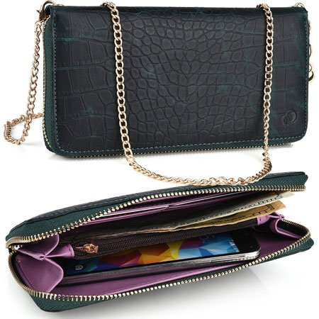 KroO Samsung Galaxy C7 Cross body Wallet and Clutch