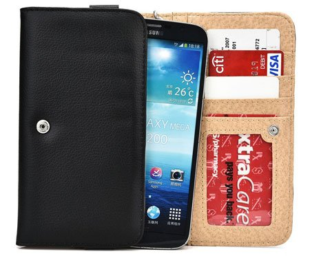"Kroo Coal Black Samsung Galaxy C7 5.7"" Phone Cover Cases"