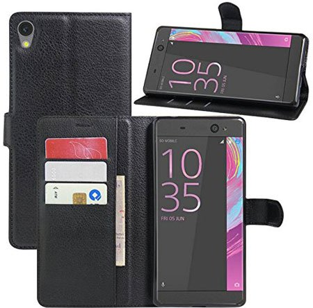 Wallet Case Cover for Sony Xperia XZ