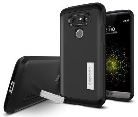 LG G5 Accessories - Spigen® Case for LG G5 with Kickstand