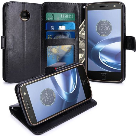 Moto Z Force Cover Wallet