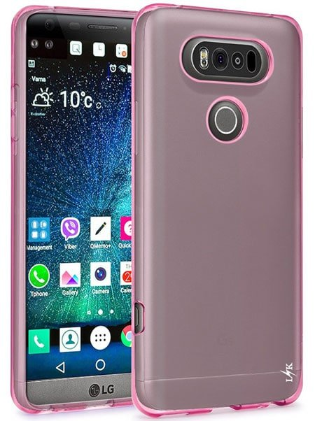 LK Ultra Silicone Protective Case Cover for LG V20