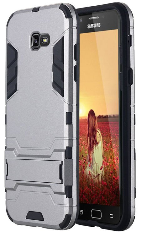 LONTECT Hybrid Case Cover for Samsung Galaxy A7 2017