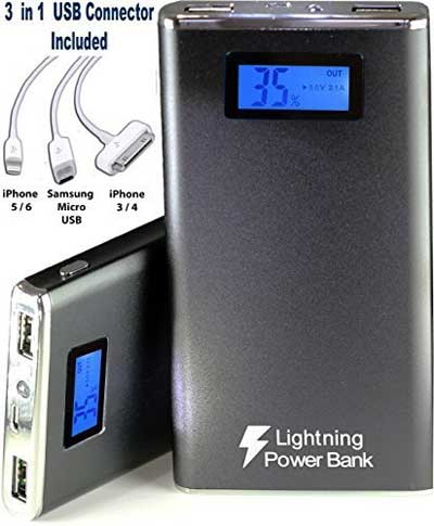 Lightning Power Bank® 12000 mAh Power Bank