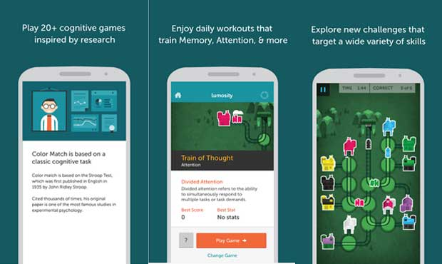 Lumosity - Brain Training apps for Android