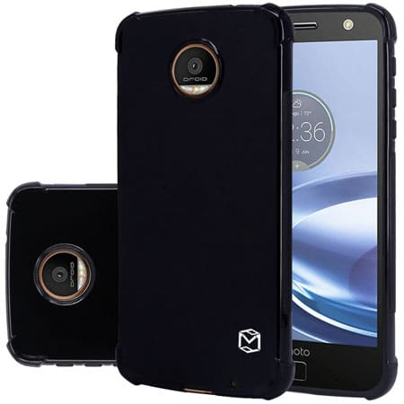 MP-Mall [Slim Fit] [Shockproof] Protective Case Cover For Moto Z Force