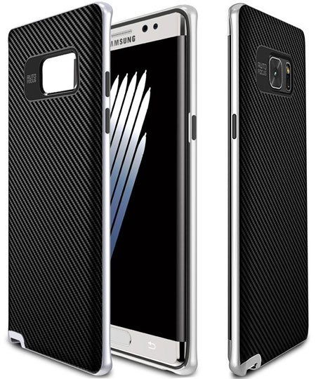 MYRIANN PREMIUM BUMPER Dual Layer Premium Case for Note 7