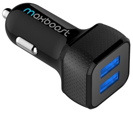 Maxboost 4.8A/24W 2 Smart Port Car Charger (Cheap Price Not 7 Car Charger)