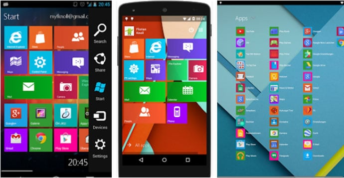 Metro UI Launcher 10 - Metro Style Launcher App for Android