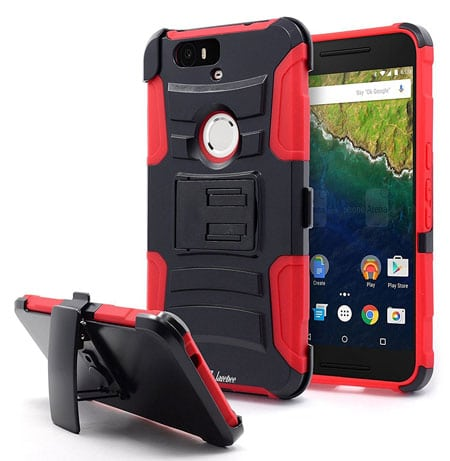 NageBee Heavy Duty Hybrid Armor Dual Layer Pixel XL Case