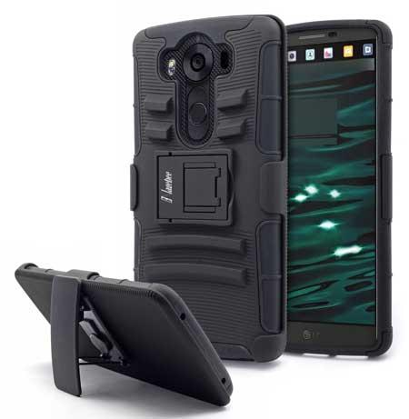 Nagebee Heavy Duty Hybrid Case for LG V10