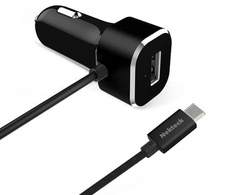 Nekteck 5.4A USB-C Car Charger Adapter