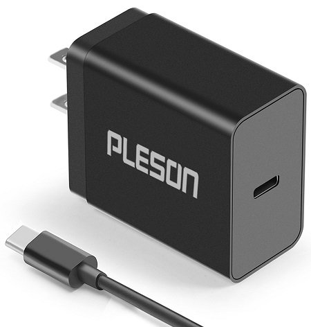 Best PLESON 15W USB-C Wall Charger for LG G6
