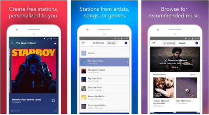 Pandora Music - Best Free Music App for Android