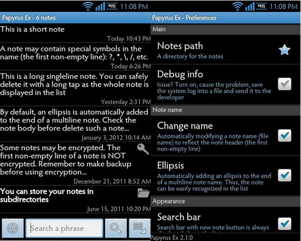 Must Have Apps for Note 7 - Papyrus Ex
