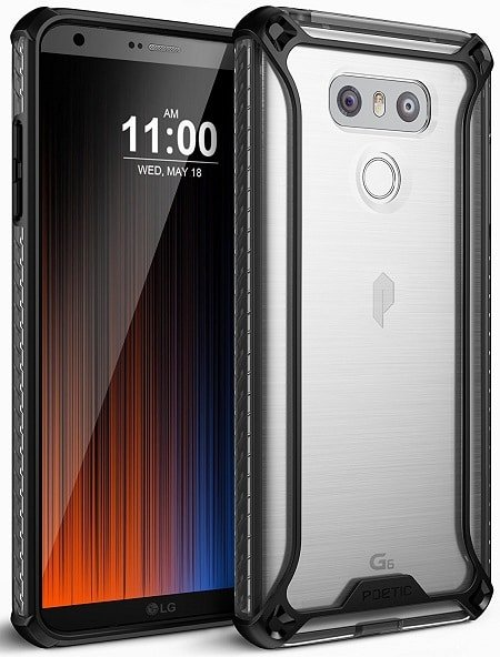 Poetic Affinity Slim Fit for LG G6 Case with Anti-Slip Side Grip