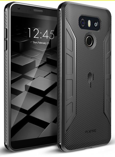 Poetic Karbon Shield Slim Fit LG G6 TPU Case