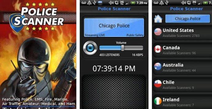 Police Scanner Free - Best Police Scanner App