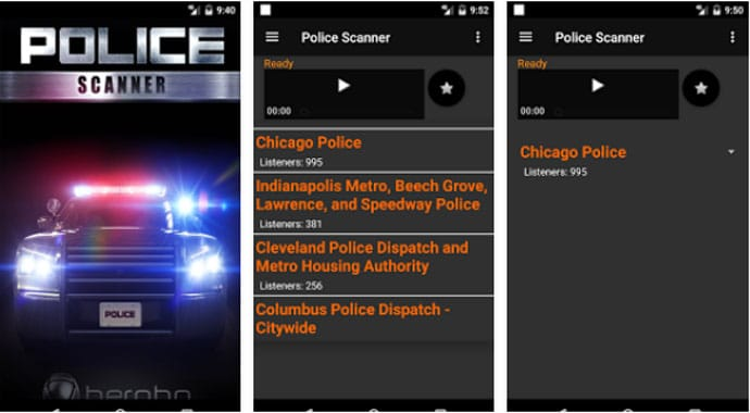 Police Scanner Radio Scanner - Free Police Scanner App