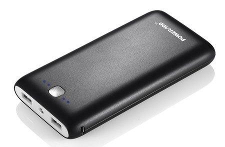 Poweradd MP-3461BK 20000mAh External Battery Power Bank