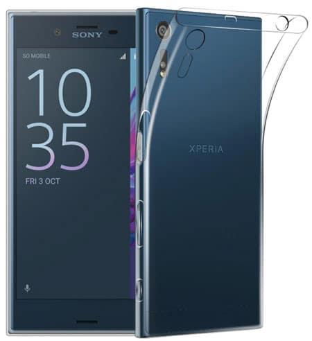 Qoosea Sony Xperia XZ Transparent Bumper Case