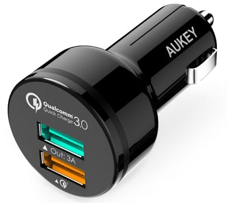 AUKEY Car Charger with Dual Ports