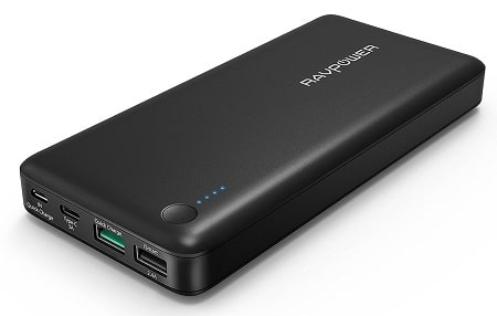 RAVPower 20100mAh Portable Charger QC 3.0 Power Bank