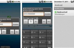 RedirectCall - Android Call Forwarding App