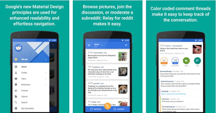 Relay for Reddit - Reddit Android App