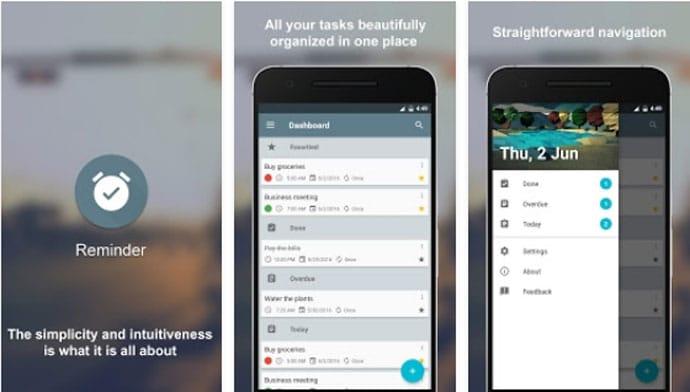 Reminder - Free Android Reminder App