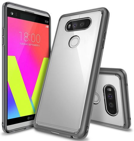 Ringke [Fusion] Crystal Clear Bumper Case Cover for LG V20