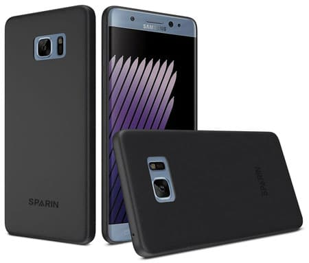 Best Lightweight and Anti-Scratch Galaxy Note7 Case by SPARIN