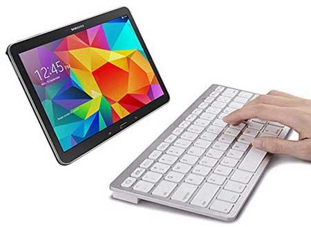 SPARIN® Mini Bluetooth Keyboard for Samsung Galaxy Tab S2 9.7/8.0 Inch