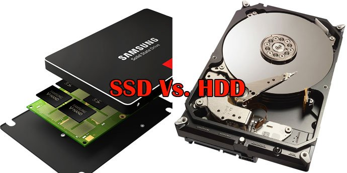Advantages of the SSDs over traditional hard disk drives