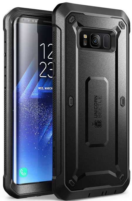 SUPCASE Full-body Rugged Holster Case for Galaxy S8+ Plus