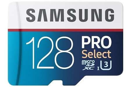 Samsung 128GB 95MB/s PRO Select Micro SDXC Memory Card (MB-MF128DA/AM)