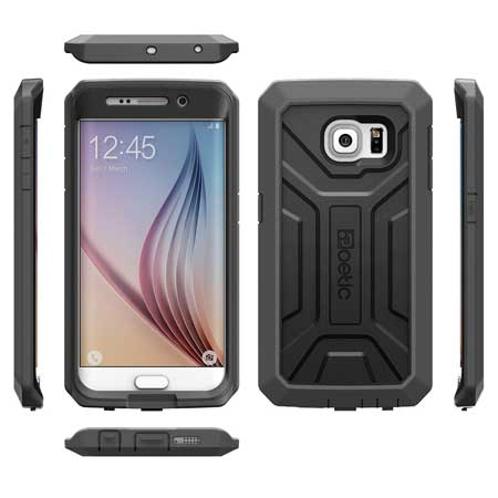 Samsung Galaxy S6 Edge Hybrid Case without Built-In Screen Protector