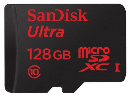 SanDisk Ultra 128GB microSDXC UHS-I Card