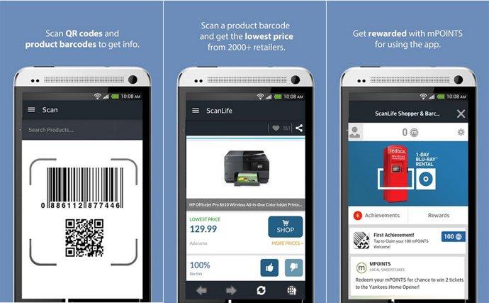 ScanLife Barcode & QR Code Reader