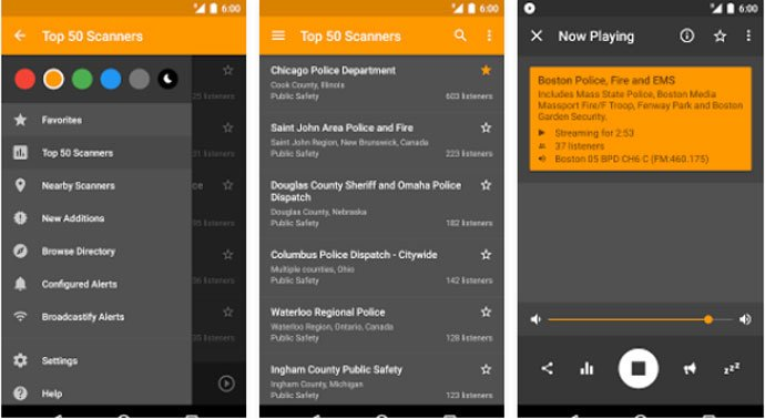 Scanner Radio - Best Police Scanner Apps for Android