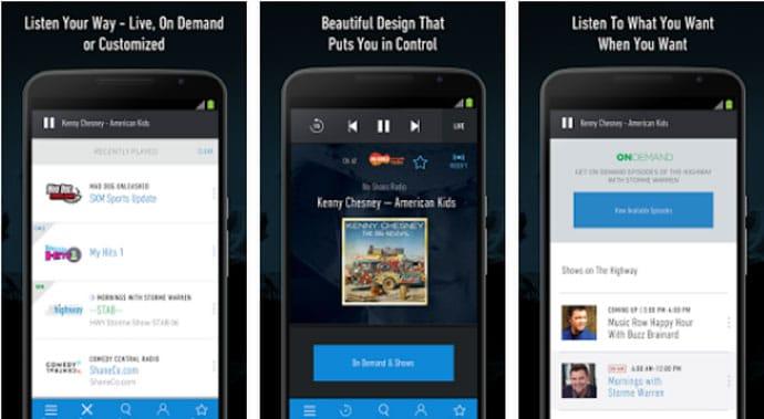 SiriusXM - Free Android Radio App