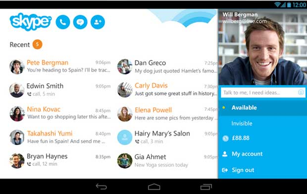 Skype - Free Video Calling Apps for Android