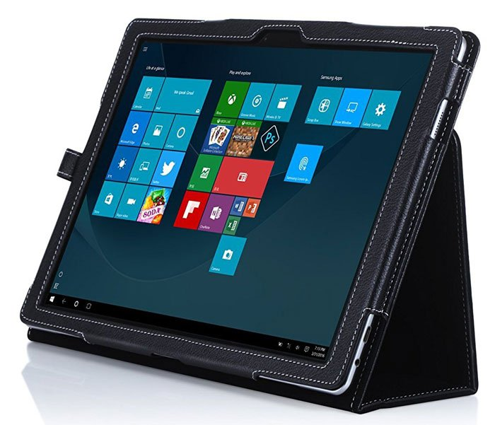 Snugg™ Samsung Galaxy TabPro S - Smart Cover with Flip Stand